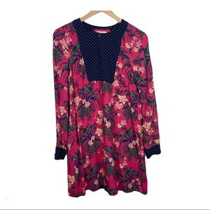 Anthropologie Maeve Floral and Bird Shift Dress 4